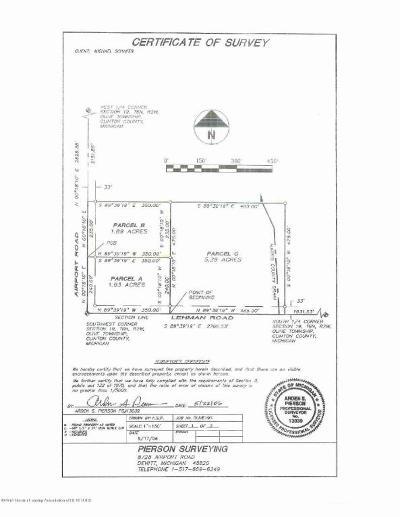Dewitt Residential Lots & Land For Sale: W Lehman Road