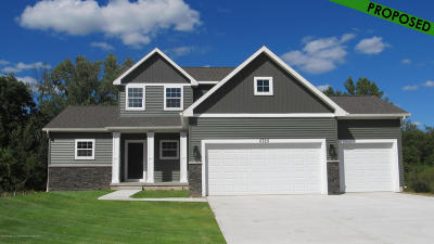 Okemos Single Family Home For Sale: 141 Forest Trail Drive