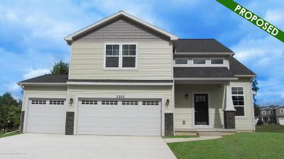 Lansing Single Family Home For Sale: 6700 Thunder Lane