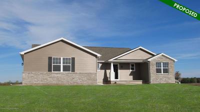 Lansing Single Family Home For Sale: 6650 Thunder Lane