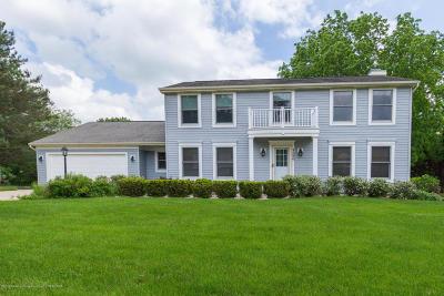 Okemos Single Family Home For Sale: 4280 Farm Meadows Court