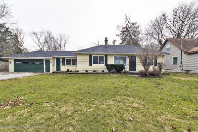 East Lansing Single Family Home For Sale: 1203 Wolf Court