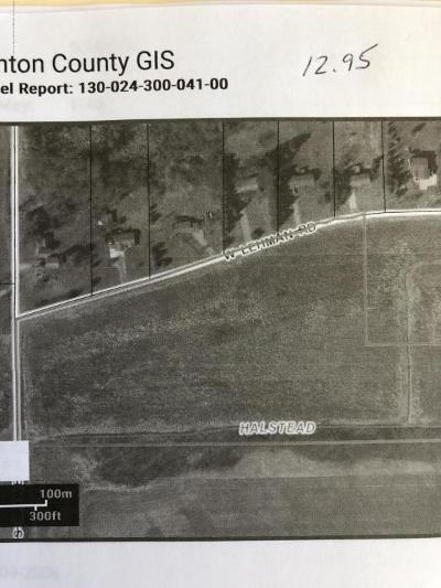 Dewitt Residential Lots & Land For Sale: Vl 4 W Lehman Road