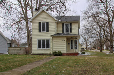 Grand Ledge Single Family Home For Sale: 610 Jenne Street