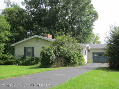 Haslett Single Family Home Active Backup: 880 Barry Road