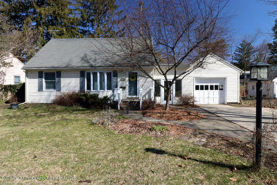 East Lansing Single Family Home For Sale: 220 Oxford Road