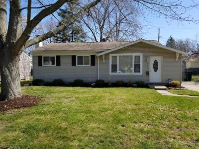 Lansing Single Family Home For Sale: 3825 Brighton Drive