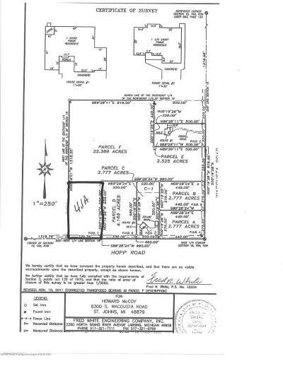 St. Johns Residential Lots & Land For Sale: Vl S Hopp Road
