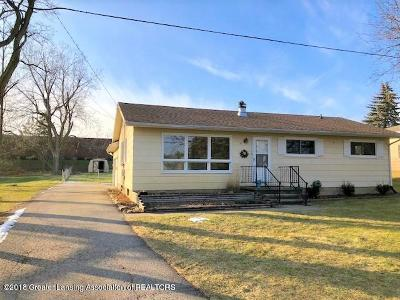 Dewitt MI Single Family Home For Sale: $152,900