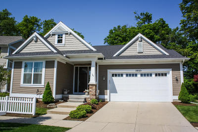 Okemos Single Family Home For Sale: 3823 Fossum Lane
