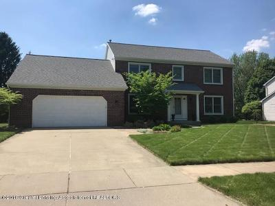 Okemos Single Family Home For Sale: 4387 Satinwood