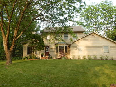 Williamston Single Family Home For Sale: 4242 N Beeman Road