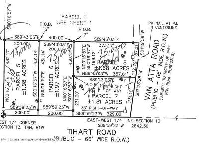 Haslett Residential Lots & Land For Sale: Van Atta