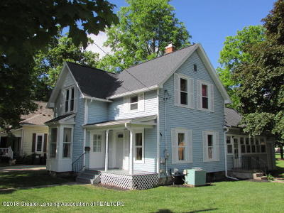 Charlotte MI Single Family Home Sold: $124,900