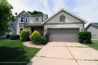 Okemos Single Family Home For Sale: 3957 Windy Heights Drive