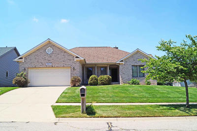 East Lansing Single Family Home For Sale: 2863 Turtlecreek Drive