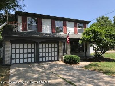 East Lansing Single Family Home For Sale: 802 Blanchette Drive