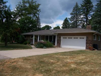 Okemos Single Family Home For Sale: 1490 Mercer Drive