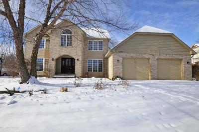East Lansing Single Family Home For Sale: 6443 E Island Lake Drive