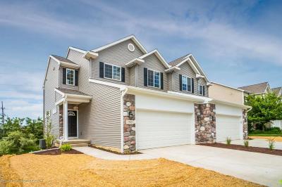 Okemos Condo/Townhouse For Sale: 2356 Fieldstone Drive #25
