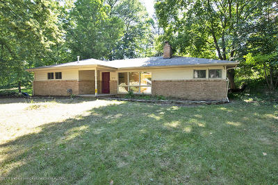 Okemos Single Family Home For Sale: 4746 Ottawa Drive