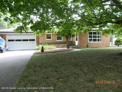 East Lansing Single Family Home For Sale: 2759 Brentwood Avenue