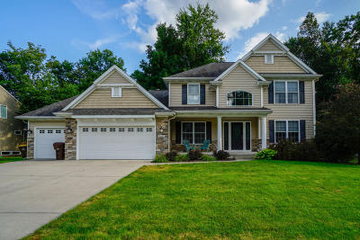 Lansing Single Family Home For Sale: 8605 Wheatdale Drive
