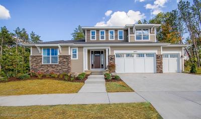Okemos Single Family Home For Sale: 2917 Medinah Drive