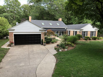 Okemos Single Family Home For Sale: 4584 Nakoma Drive