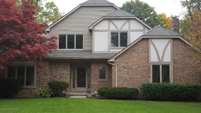 Okemos Single Family Home For Sale: 3806 Crooked Creek Drive