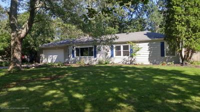 Okemos Single Family Home For Sale: 4608 Ottawa Drive