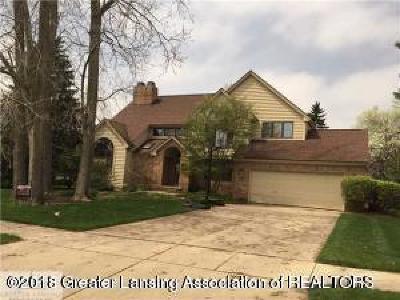 Okemos Single Family Home For Sale: 3911 Breckinridge Drive
