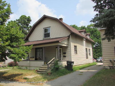 Charlotte MI Multi Family Home For Sale: $59,900