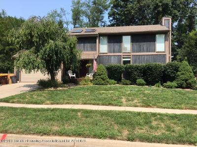 Haslett Single Family Home For Sale: 1210 Ascot