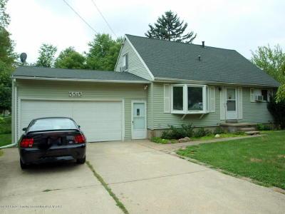 Haslett Single Family Home For Sale: 5515 Marsh Road