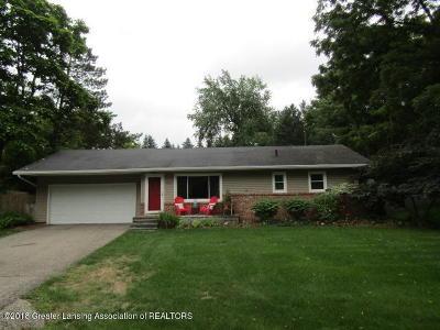 Okemos Single Family Home For Sale: 4236 Hulett Road
