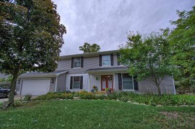 East Lansing Single Family Home Active Backup: 1453 Farwood Drive