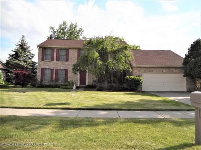 East Lansing Single Family Home For Sale: 1043 Harrington Lane