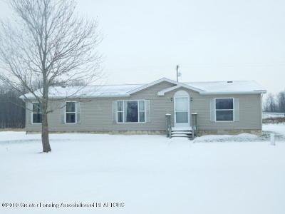 Dewitt MI Single Family Home For Sale: $74,900