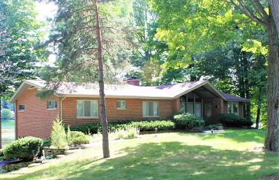 Lansing Single Family Home For Sale: 3833 Waverly Hills Road