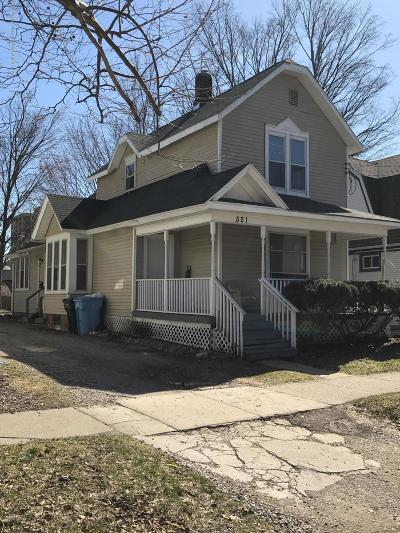 Lansing Multi Family Home For Sale: 521 W Shiawassee Street