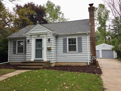 Williamston Single Family Home For Sale: 620 N Putnam Street