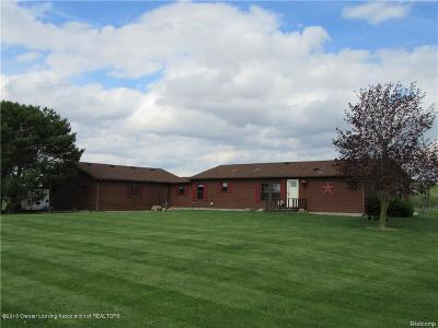 St. Johns Single Family Home For Sale: 11495 S Croswell Road