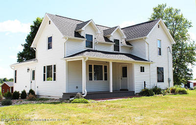 Charlotte Single Family Home For Sale: 2049 W Vermontville Highway