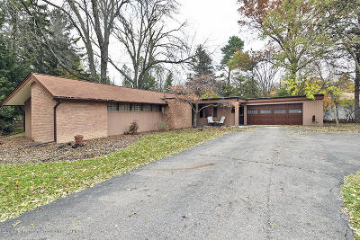 East Lansing Single Family Home For Sale: 3470 E Taylor Drive
