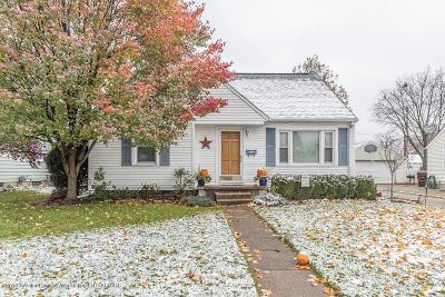 Lansing Single Family Home For Sale: 3420 Sylvan Road