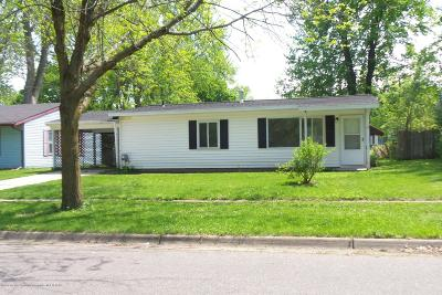 Lansing Single Family Home For Sale: 3101 Fielding Drive