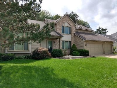 Okemos Single Family Home For Sale: 1225 Leeward Drive
