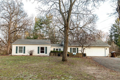 Williamston Single Family Home For Sale: 4850 Meridian Road