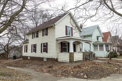 Lansing Single Family Home For Sale: 201 W Barnes Avenue